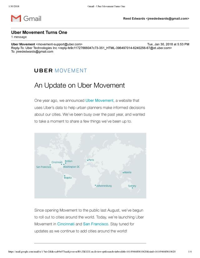 Uber Transparency
